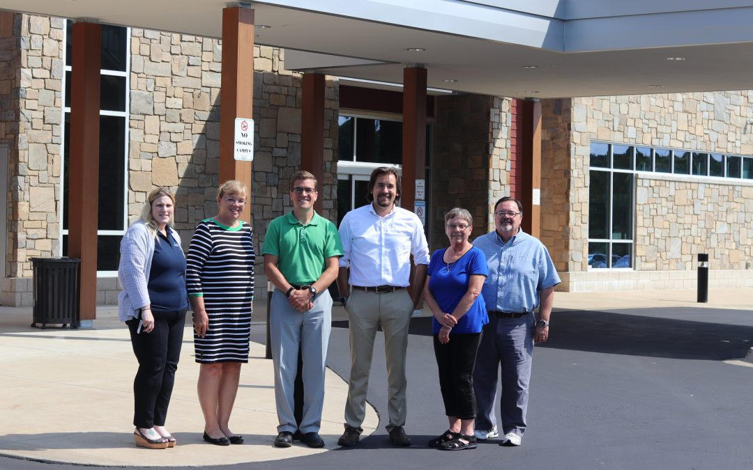 Local Representatives Visit Cassopolis Family Clinic
