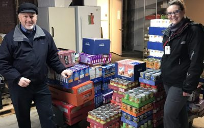 Cassopolis Family Clinic Network Donates to Local Food Pantry
